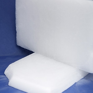 Dry ice used in food industry – 0,8kg slice (12pcs)