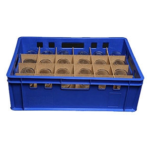 Rental of ICYDRINK iceglasses 24pc.